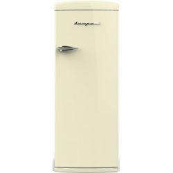 Frigider cu o usa Retro Bompani BOMP601 / C Clasa A++ 323 litri deschidere usi dreapta Crem