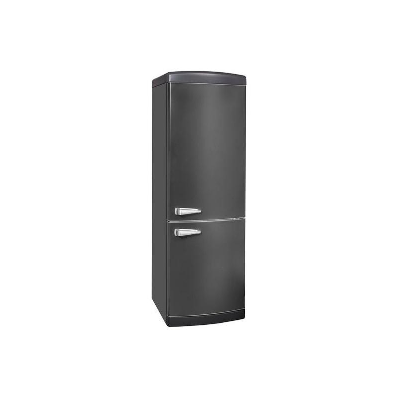 Combina frigorifica VonReiter RKGC 30085 RNFA ++ AS, 302 litri, clasa A++, 252 kWh/ an, Full No Frost, negru