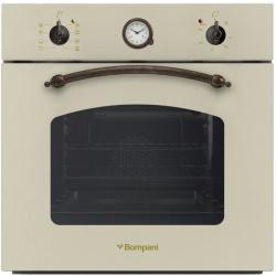 Cuptor incorporabil Bompani Rustico Crema BO246SD/E, electric, multifunctional, 60cm, 54l, crem
