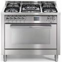 Aragaz Lofra Special100 PG106MFT/UI, gaz, 100X60cm, 5 arzatoare, aprindere electronica, grill electric, timer, inox