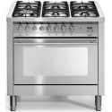 Aragaz Lofra Special90 PG96MFT/CISF, gaz, 90X60cm, 6 arzatoare, cuptor gigantic, grill electric, timer, inox