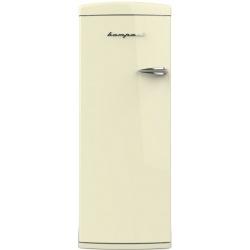 Frigider cu o usa Retro Bompani BOMP612 / C Clasa A++ 323 litri deschidere usi stanga Crem