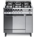 Aragaz Lofra Maxima MT86MF/C, 80x60 cm, gaz, 5 arzatoare, grill electric, timer, aprindere electronica, inox