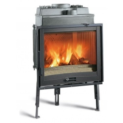 Vatră de ardere din lemn pentru șemineuri Extraflame Nordica FOCOLARE 70 PIANO, cu aer cald prin convecție naturală 9 kw