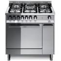 Aragaz Lofra Maxima MT86GV/C, 80x60 cm, gaz, 5 arzatoare, grill electric, timer, cuptor gaz, aprindere electronica, inox