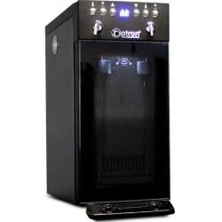 Vitrina de vinuri Datron dispenser 2 sticle o zona temperatura C° negru