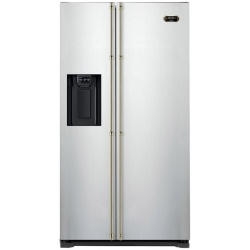 Side by Side Lofra GFRS619, 619 l, Clasa A+, No Frost, H 180 cm, Inox
