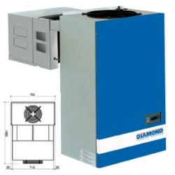 Unitate de racire pentru camera frigorifica Diamond AN300-PED, temperatura -18°-22°
