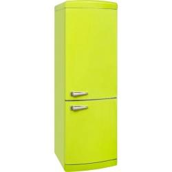 Combina frigorifica VonReiter RKGC 30090 RDA +++ LG, 315 litri, clasa A+++, 153 kWh/ an, Frigider No Frost, Lamaie Verde