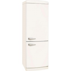 Combina frigorifica VonReiter RKGC 30090 RDA +++ MW, 315 litri, clasa A++, 153 kWh/ an, Frigider No Frost, Alb Magnolie