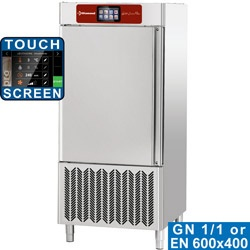Congelator rapid DIAMOND DBT101/TS-GX,touch screen, 10x GN 1/1 sau 600x400 (40-25 Kg)
