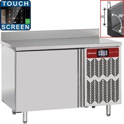 Congelator rapid DIAMOND GTBT6/TSA, cu masa si perete, 6x GN1/1 (20-12 Kg)