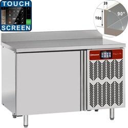 Congelator rapid cu masa si perete DIAMOND PTBT6/TSA, 6x 600x400 (20-12 Kg)