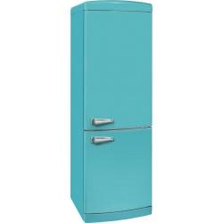 Combina frigorifica VonReiter RKGC 30085 RDA ++ TB, Clasa A++, 317 L,, 230 kWh/ an, No Frost, Turcoaz