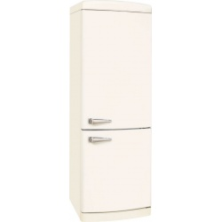 Combina frigorifica VonReiter RKGC 30085 RNFA ++ MW, 302 litri, clasa A++, 252 kWh/ an, Full No Frost, Alb Magnolie