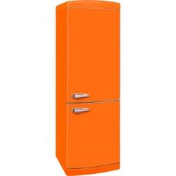 Combina frigorifica VonReiter RKGC30085RNFA++OR, 302 litri, clasa A++, 252 kWh/ an, Full No Frost, Portocaliu