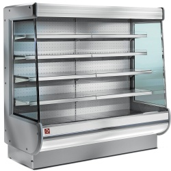 Raft frigorific de perete ventilat DIAMOND EY10/A1, autoservire
