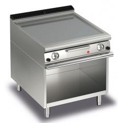 Gratar Fry Top Baron Q70FTTV/G805,QUEEN7, placa crom lustruit, compartiment deschis,putere 13 kW, arzatoare gaz, termosat