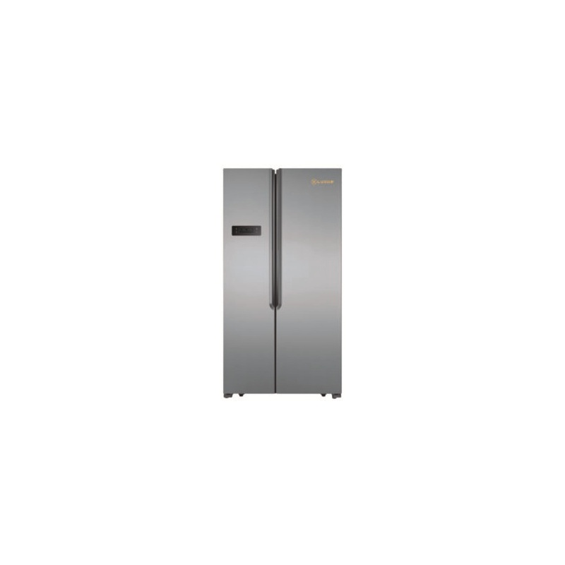Side by Side Luxus LUX-SBS562X3D, Clasa A+, 556 litri,H 177 cm, Dispenser, Inox