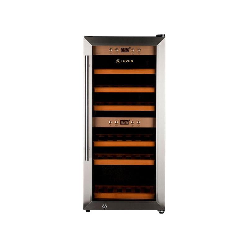 Vitrina de vin Luxus WineDeluxe 24 LUX-WD24ZZ, Capacitate 24 sticle, Inox