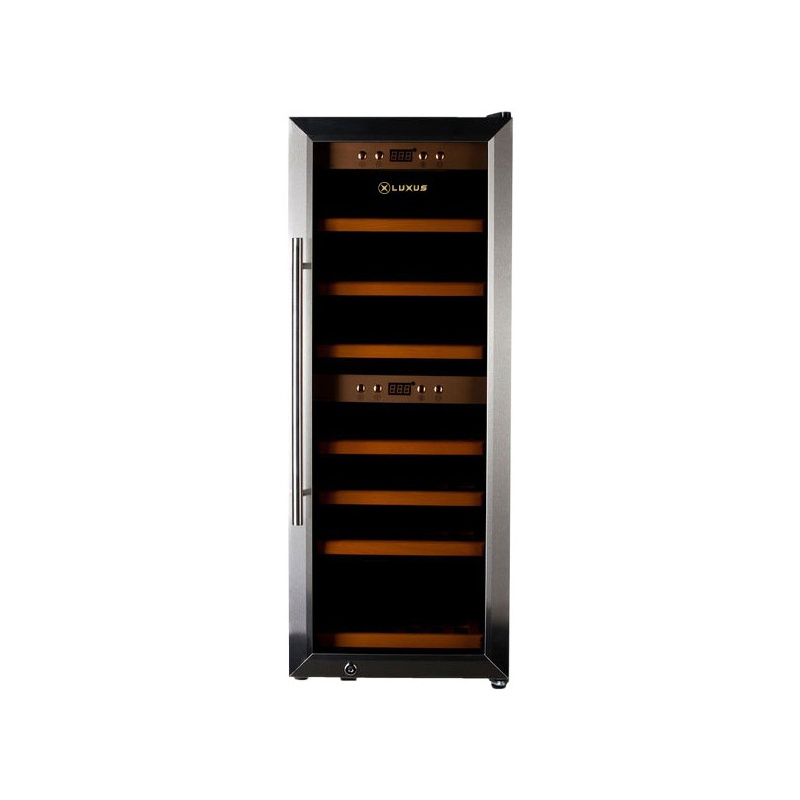 Vitrina de vin Luxus WineDeluxe 38 LUX-WD38ZZ, Capacitate 38 sticle, Inox