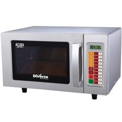 Cuptor cu microunde din otel inoxidabil DIAMOND WR-2510-DE,1000 W,25 L, digital