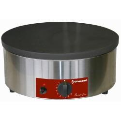 Masina de gatit clatite cu gaz BRET/1G-H,Ø 400 mm,emailata