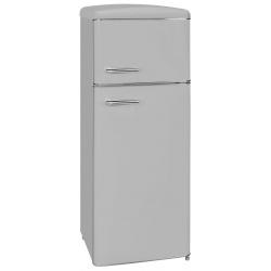 Frigider 2 usi Exquisit RKGC270-45-H-160E GRAU , clasa energetica E, volum net 206 L, No Frost frigider, gri