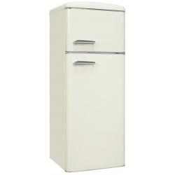 Frigider 2 usi Exquisit RKGC270-45-H-160E MW , clasa energetica E, volum net 206 L, No Frost frigider, alb magnolie