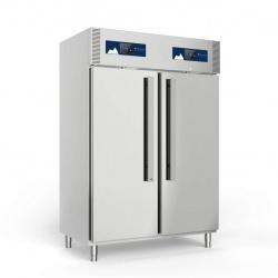 Combina frigorifica profesionala Polaris Master M70/70TNN BT cu unitate condensare, 2 usi, 1400 litri, -2°+8°C/ -25°-15°C, inox