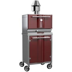 Cuptor pe carbuni KOPA K300S/300SW 50-60 portii/h 800 x 600 x 650 mm & 800 x 900 x 640 mm Inox