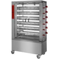 Rotisor pe gaz DIAMOND RVG/6-CM,36 pui