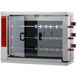 Rotisor vitroceramic DIAMOND RVE/3C-CM,18 pui