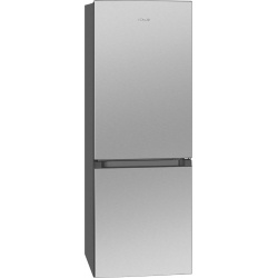 Combina frigorifica BOMANN KG320.2, noua clasa E, capacitate neta 175L, inox