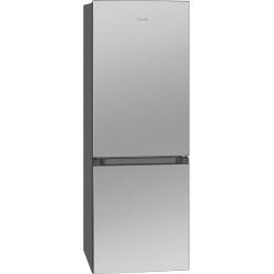 Combina frigorifica BOMANN KG322.1, noua clasa D, capacitate neta 175L, inox