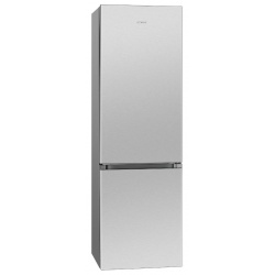 Combina frigorifica BOMANN KG184.1, noua clasa D, capacitate neta 269 lt, inox