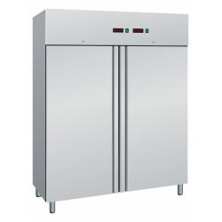 Combina frigorifica profesionala Amitek AK600DTV cu 2 usi, capacitate 950 litri, 2 zone temperatura -2°+8 °C/-18°-22 °C, inox