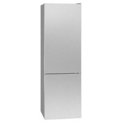 Combina frigorifica BOMANN 7321.1, noua clasa E, capacitate neta 262L, Easy Frost, inox