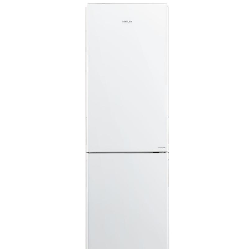 Combina frigorifica Hitachi R-BG410PRU6(GPW), 330 L, clasa A++, 219 kWh/an, No Frost, Sticla alb perlat