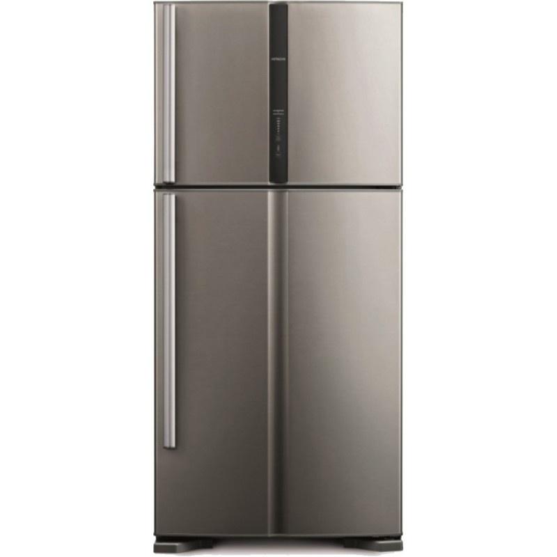 Combina frigorifica Hitachi R-V610PRU3X(INX), No Frost, A++, 510L, inaltime 176 cm, Inox