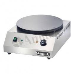Plita Clatite Crepiera Profesionala Amitek CR350L, 3000W, temperatura 0°+300°C, inox
