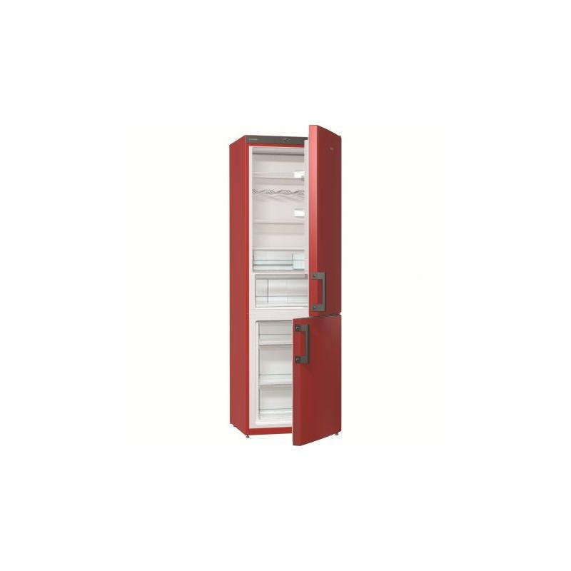 Combina frigorifica Gorenje RK6192ERD, 319 l, Clasa A++, H 185 cm, Rosu