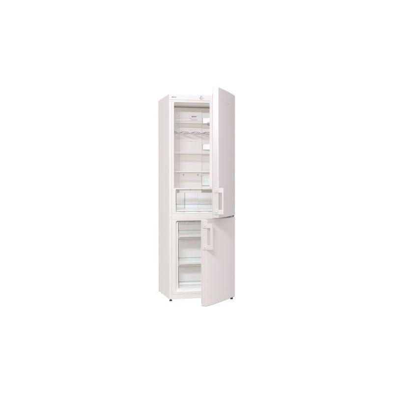 Combina frigorifica Gorenje NRK6191CW, 307 l, Clasa A+, No Frost, 185 cm, Alb