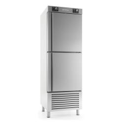 Combina frigorifica profesionala INFRICO AN 502 MX, capacitate 240/240 litri, 2 zone temperatura -2ºC+ 8ºC / -18ºC, inox