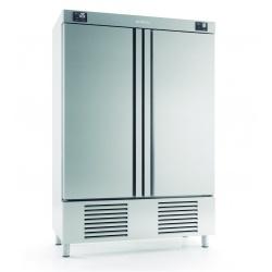 Combina frigorifica profesionala INFRICO AN 1002 MX, capacitate 540/540 litri, 2 zone temperatura -2ºC+ 8ºC / -18ºC, inox