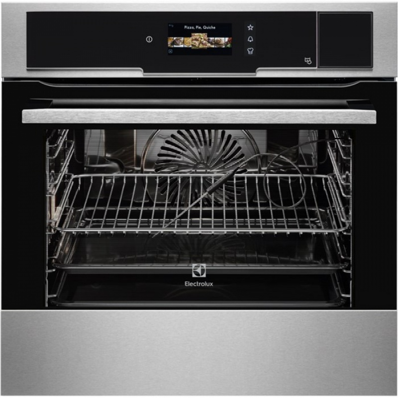 Cuptor incorporabil compact Electrolux EVY3841AOX Electric, Clasa A
