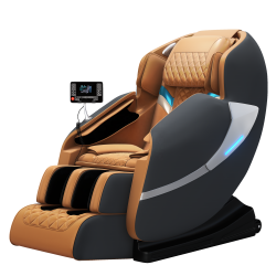 Fotoliu de Masaj premium LUXURIA Elite 3D ZeroGravity cu sistem de masaj Shiatsu Wellness, telecomanda si bluetooth