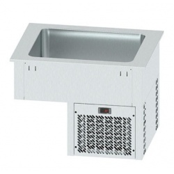 Vitrina frigorifica incorporabila pentru autoservire INFRICO EECF2, 208 W, latime 81.5 cm, temperatura +2ºC/ +10ºC