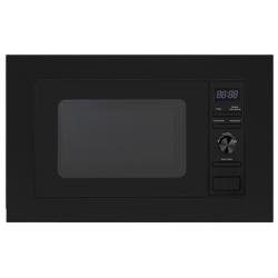Cuptor cu microunde incorporabil PKM 13076,sticlă neagră / acrilic,volum de 20 litri
