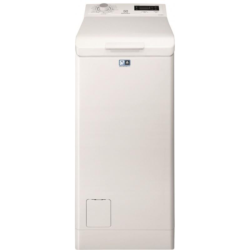 Masina de spalat rufe cu incarcare verticala Electrolux EWT1266ELW, TimeCare, 6 kg, 1200 RPM, Clasa A+++, Alb